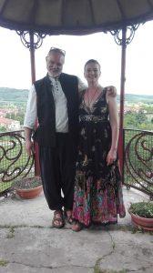 Alberto Pomari ed Elisabetta Baschirotto